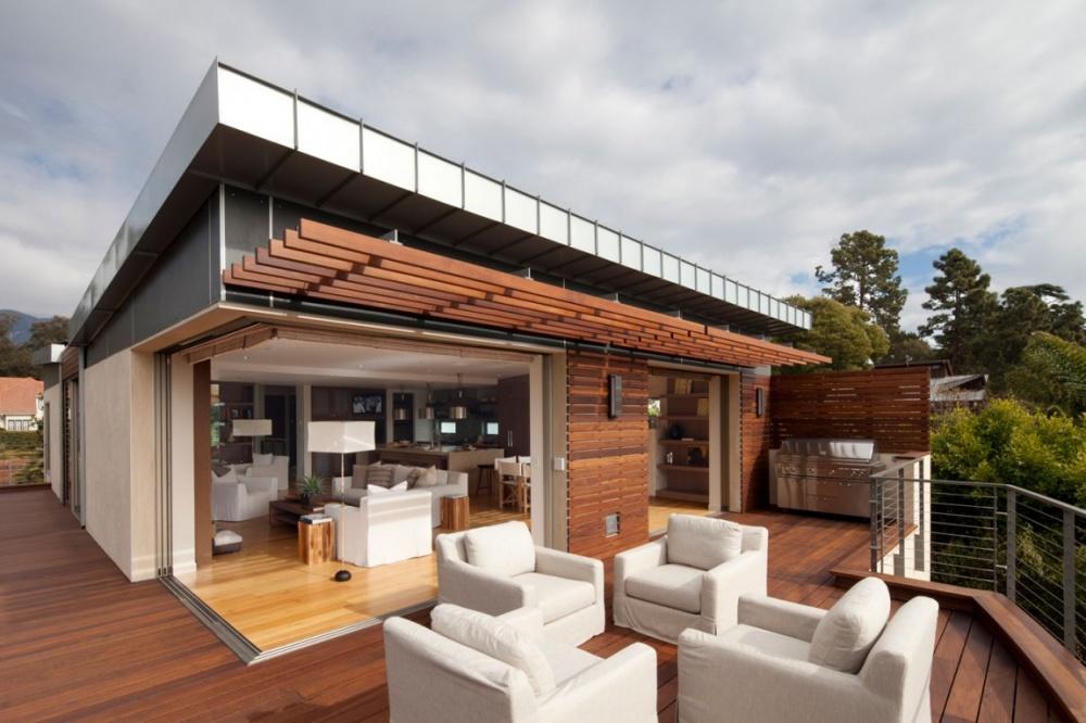 modern vacation house swimming pool enerfy saving (3)