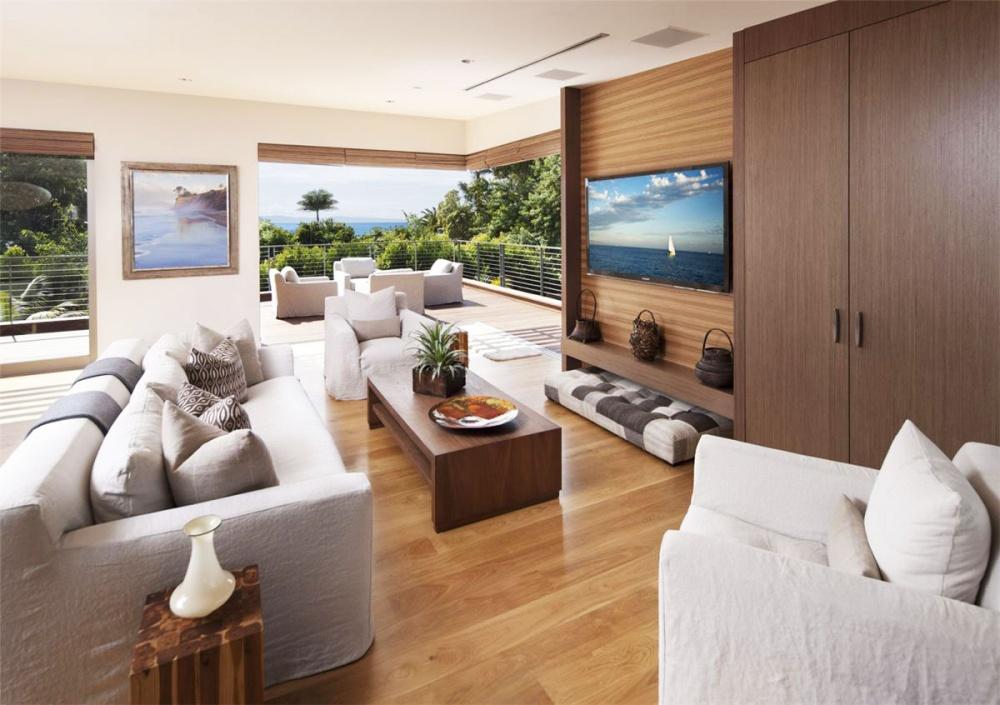 modern vacation house swimming pool enerfy saving (6)