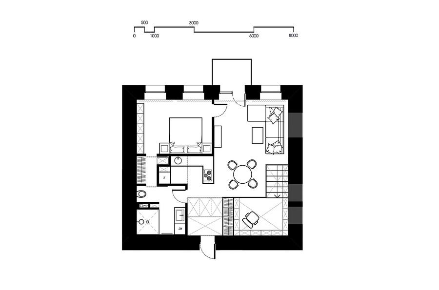 project condominium decoration interior classic modern industiral (1)
