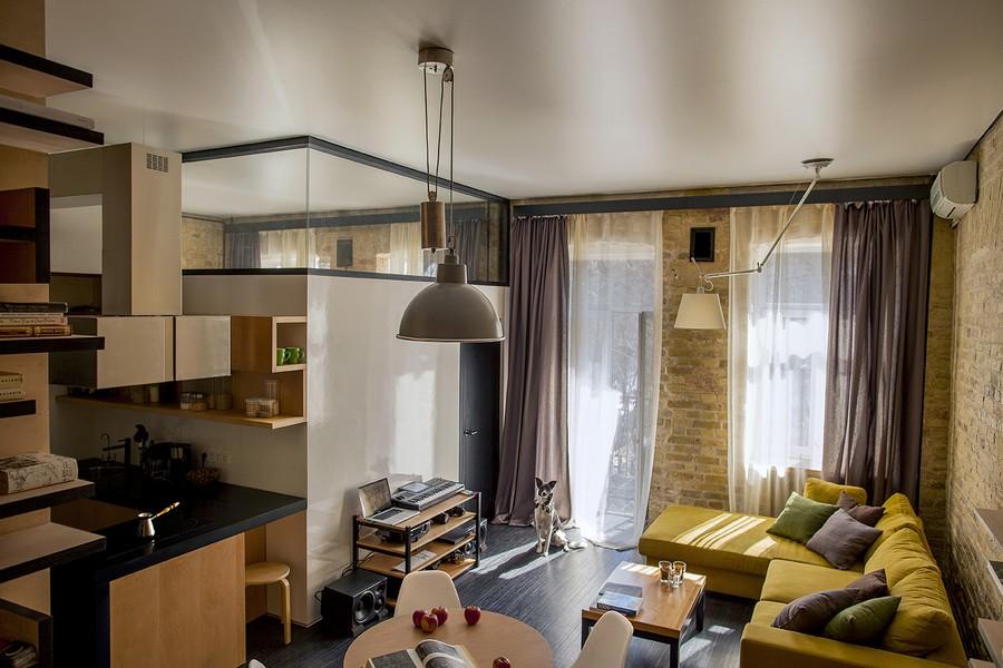 project condominium decoration interior classic modern industiral (12)