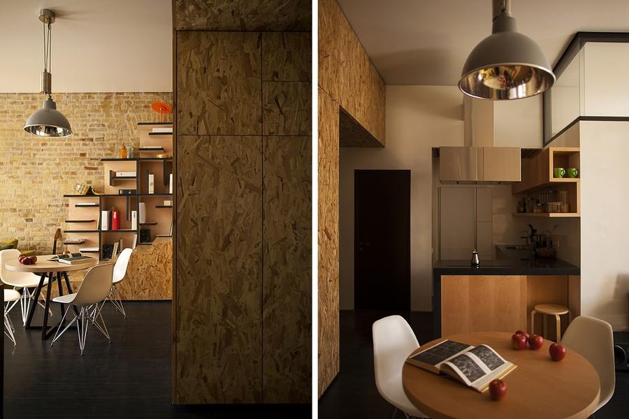 project condominium decoration interior classic modern industiral (15)