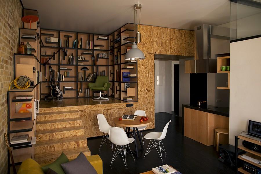 project condominium decoration interior classic modern industiral (17)