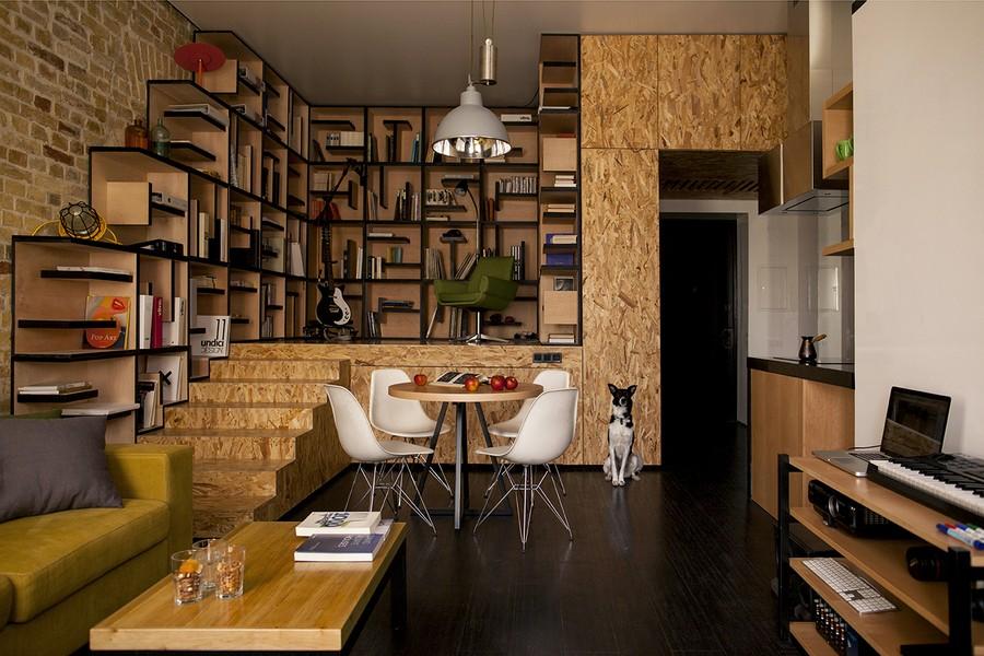 project condominium decoration interior classic modern industiral (19)