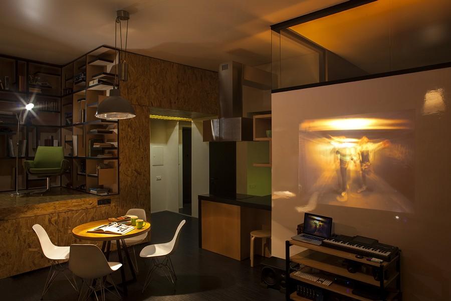 project condominium decoration interior classic modern industiral (4)