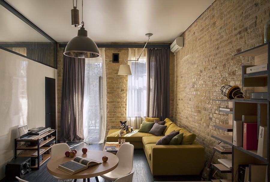 project condominium decoration interior classic modern industiral (7)