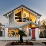แบบบ้านเดี่ยวสองชั้นสไตล์โมเดิร์นแบบเรียบง่าย แต่ดูสวยงามลงตัวเลยล่ะ