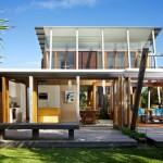 แบบบ้านไม้สไตล์โมเดิร์น ออกแบบเน้นความเปิดโล่ง เพื่อชีวิตใกล้ชิดธรรมชาติ