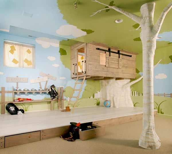 25 creative kid bedroom ideas by naibann.com (10)