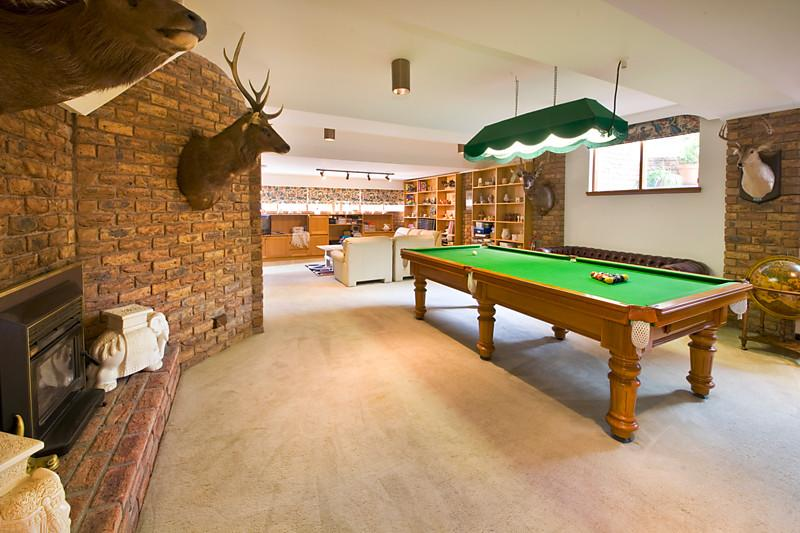 classic contemporary brick modern house swimming pool (10)