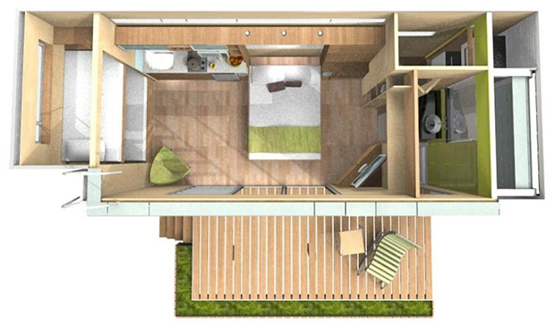 mini container house cute (4)
