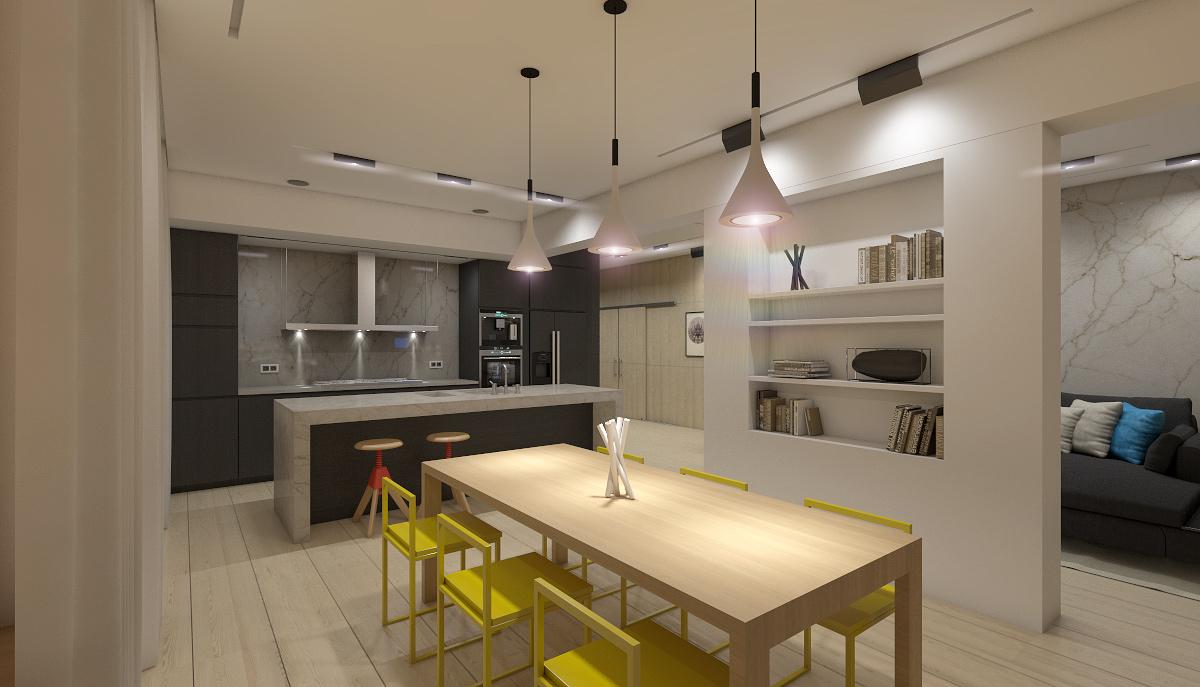 modern elegant condominium room city life (1)