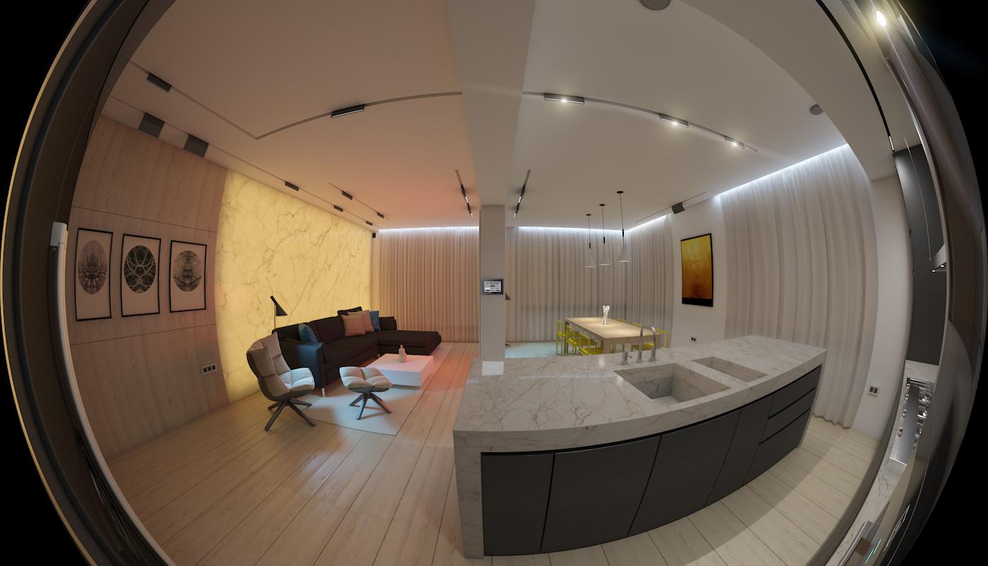 modern elegant condominium room city life (2)