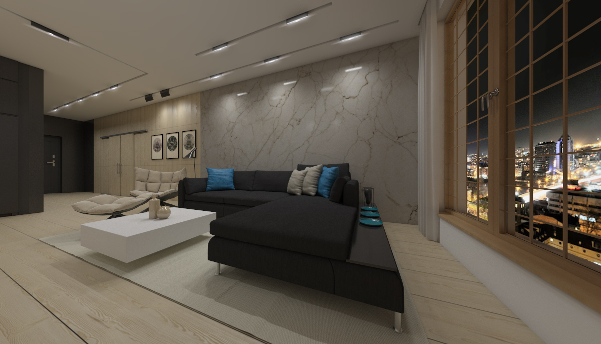modern elegant condominium room city life (5)