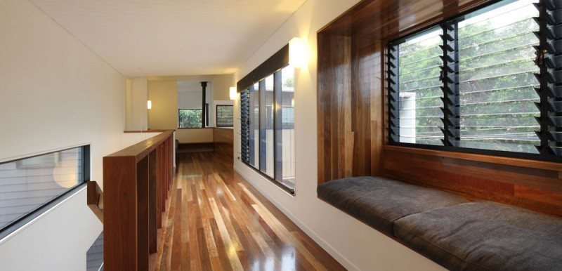 modern house design in australia black white wood (11)