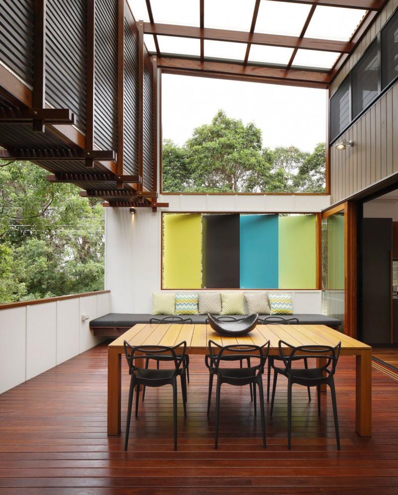 modern house design in australia black white wood (12)