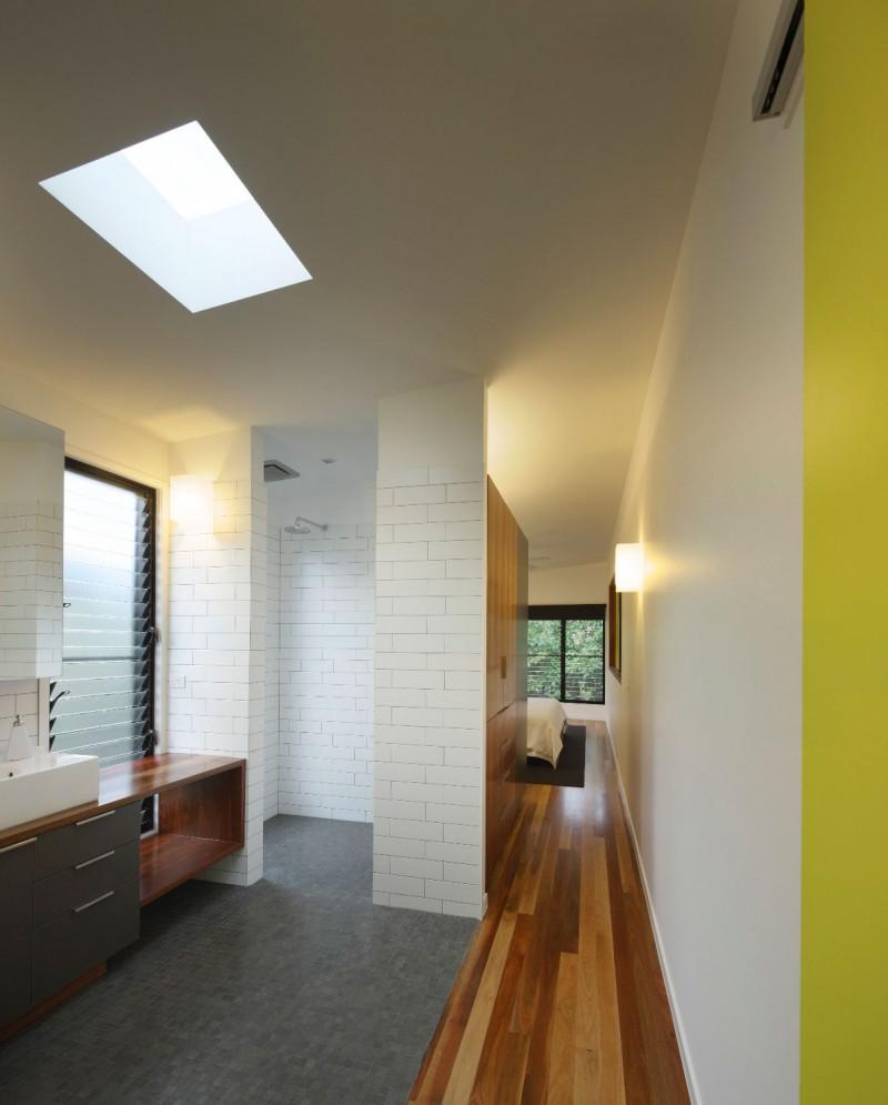 modern house design in australia black white wood (6)