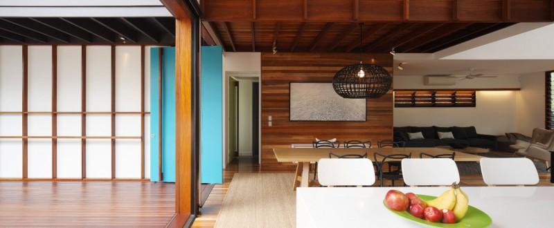 modern house design in australia black white wood (9)