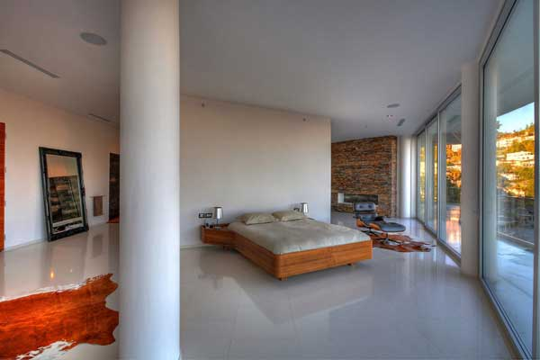 modern house with swimming pool bevery hill (2)
