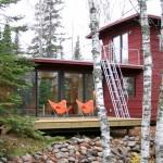 บ้านชั้นครึ่ง ออกแบบอย่างเรียบง่ายแต่โดดเด่น สำหรับการพักผ่อนสบายๆ