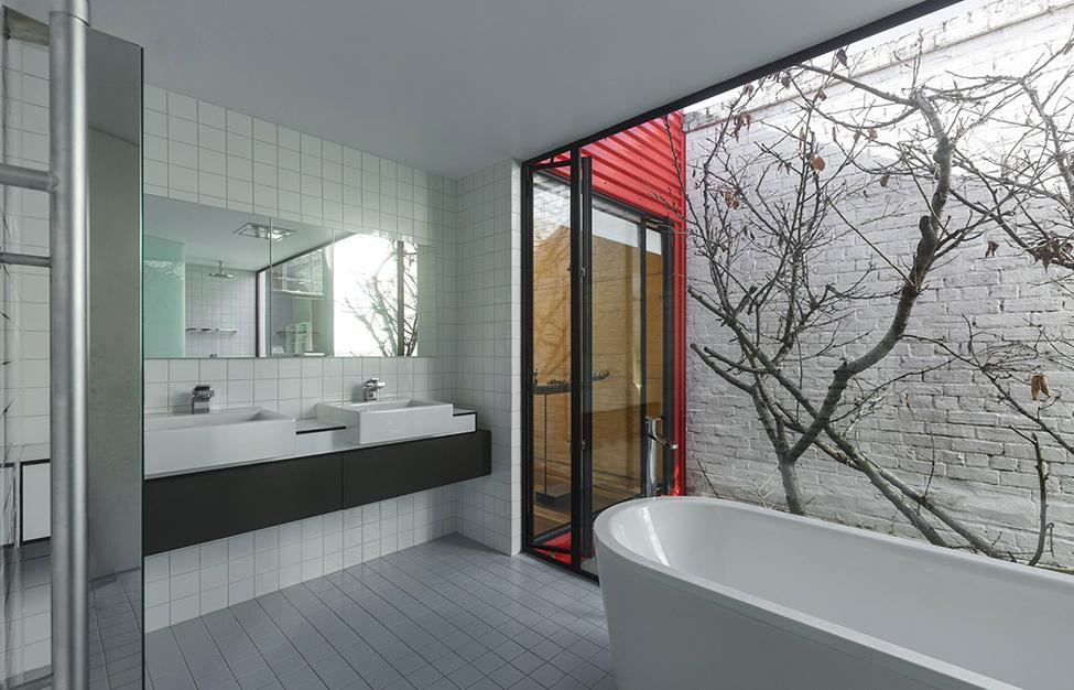 renovate classic to modern townhome australia (12)