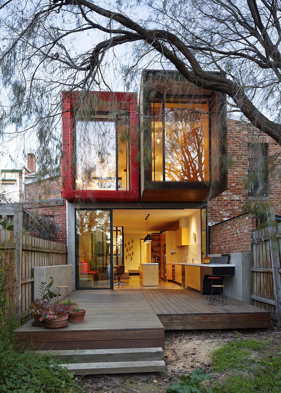 renovate classic to modern townhome australia (19)