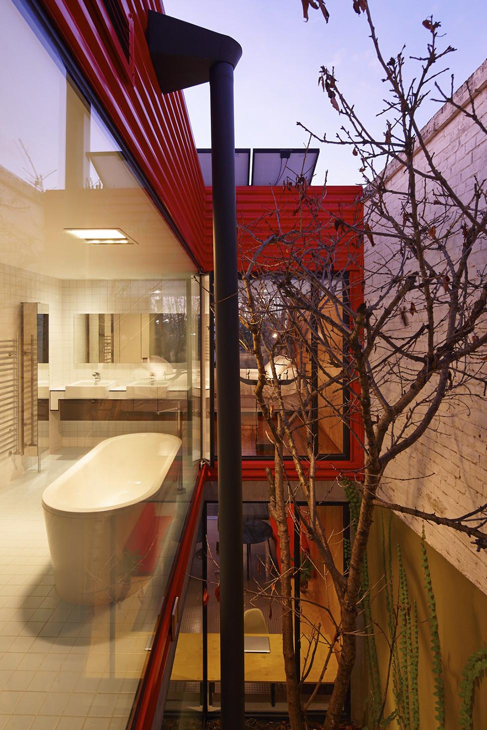 renovate classic to modern townhome australia (2)