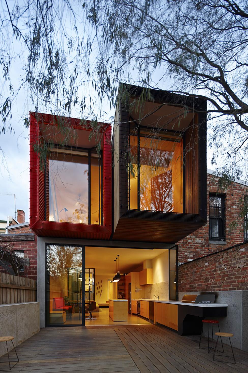 renovate classic to modern townhome australia (20)