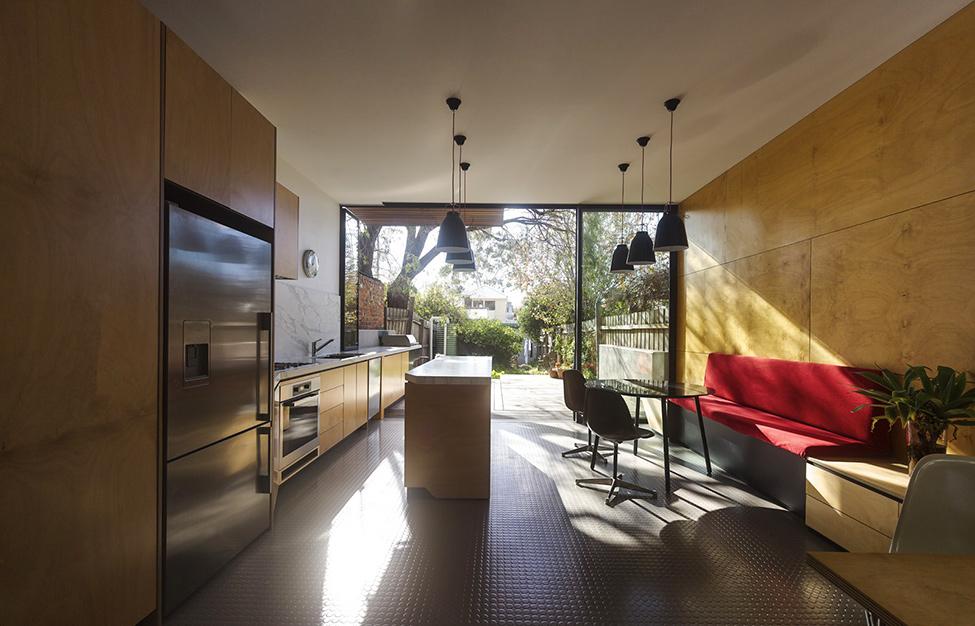 renovate classic to modern townhome australia (8)