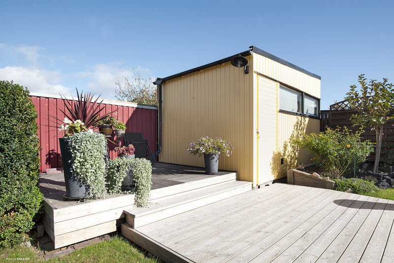 scandinavien house with modern style serene clam (11)