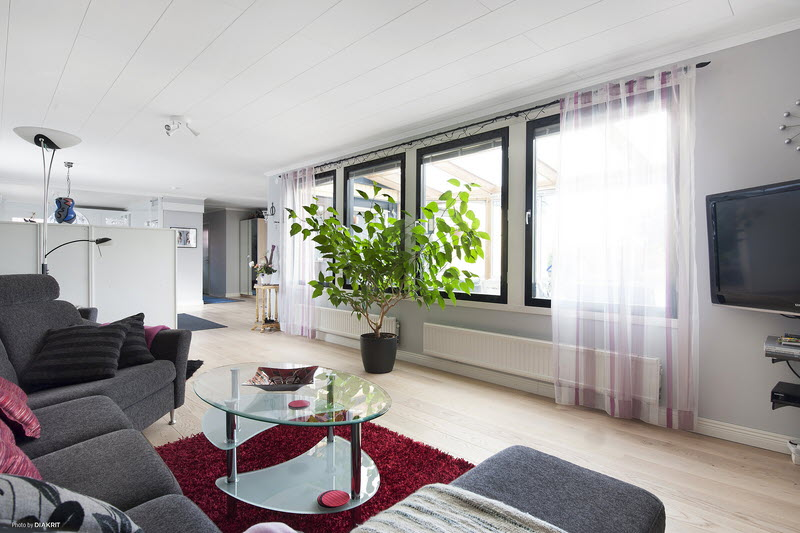scandinavien house with modern style serene clam (15)