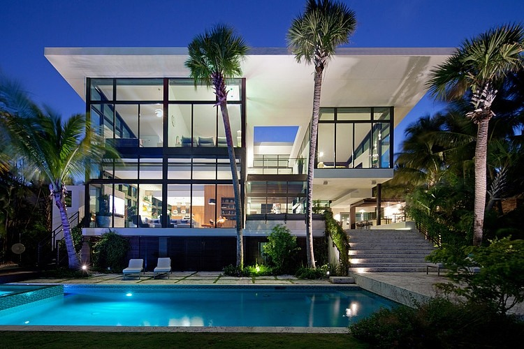 seaside house modern architecture garden swimming pool (3)