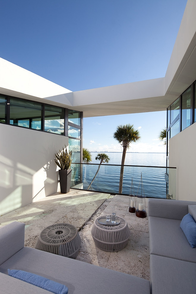 seaside house modern architecture garden swimming pool (4)