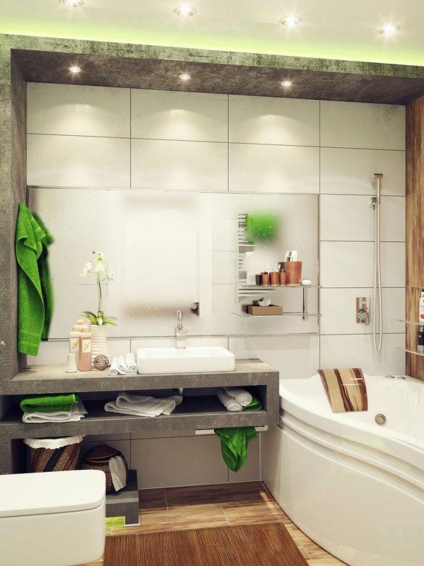 small bathroom design idea (13)