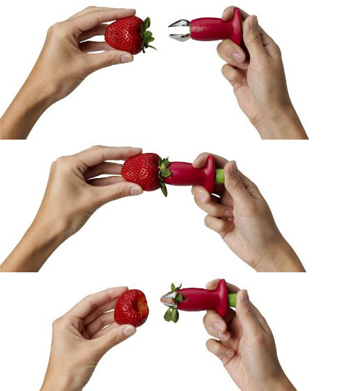 Strawberry-Stem-Remover