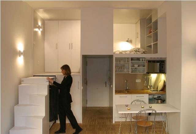 build in condominium room best idea for saving spcae (11)