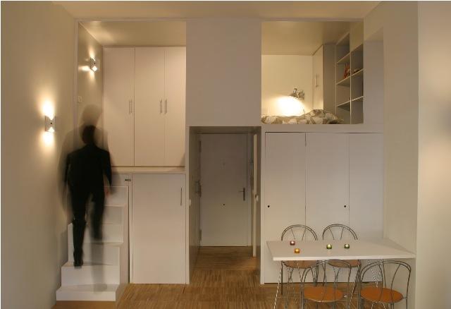build in condominium room best idea for saving spcae (3)