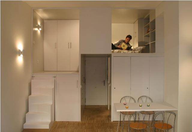 build in condominium room best idea for saving spcae (4)
