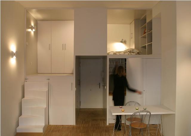 build in condominium room best idea for saving spcae (5)