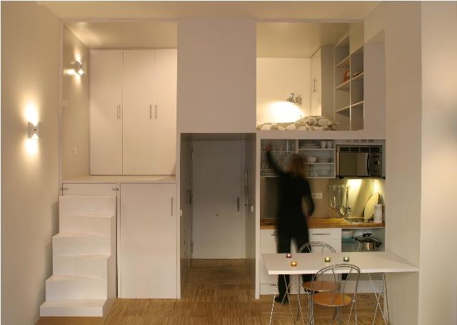 build in condominium room best idea for saving spcae (6)