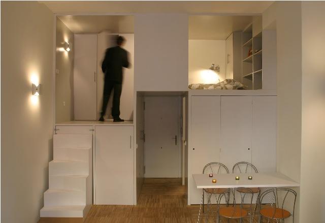 build in condominium room best idea for saving spcae (7)