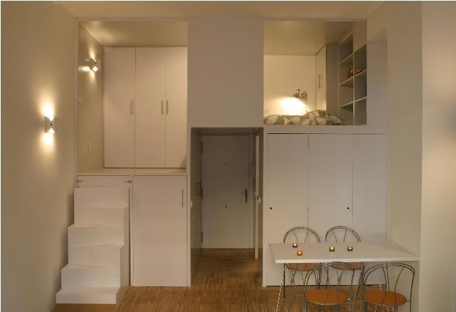 build in condominium room best idea for saving spcae (9)