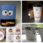 สารพัดไอเดียแก้วกาแฟ ดูน่ารักและแตกต่าง เติมความสุขให้กับทุกเช้า