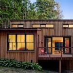 บ้านเล็กในป่าใหญ่ สไตล์คอทเทจ เน้นความเรียบง่ายใกล้ชิดธรรมชาติ
