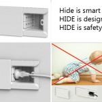 Hide ไอเดียปลั๊กไฟแนวโมเดิร์น เพื่อป้องกันอันตรายของลูก จากการโดนไฟดูด