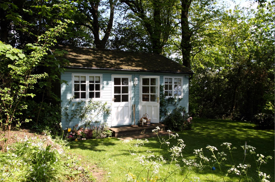 island cottage wooden small house cute (3)