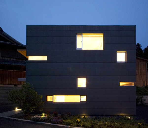 modern city house contemporary in japan (4)