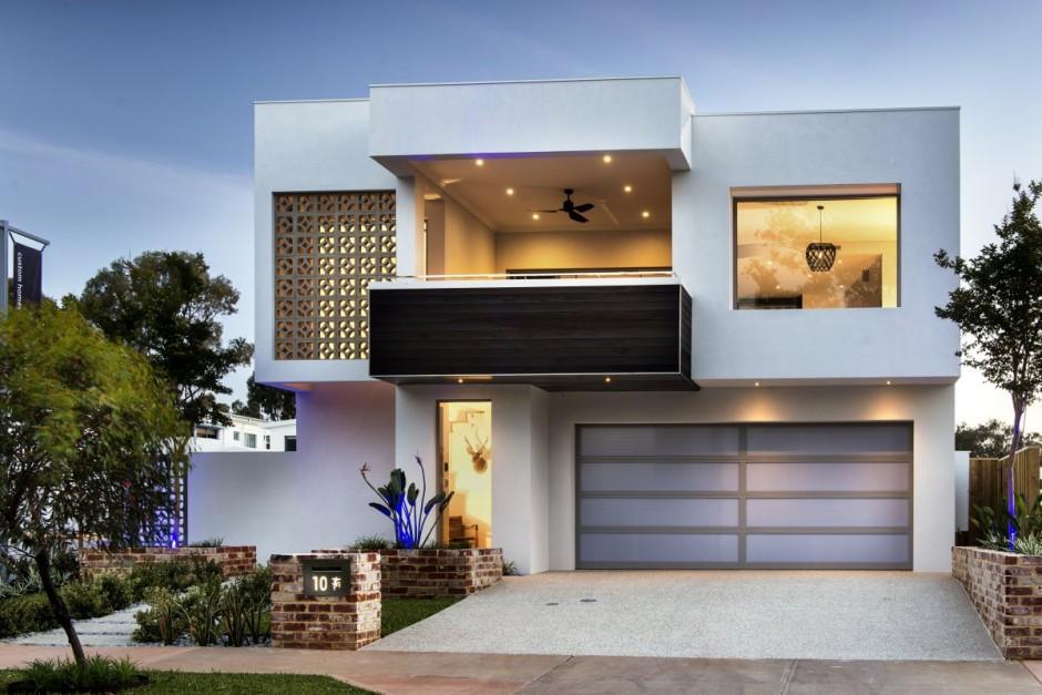 modern contemporary city house (7)