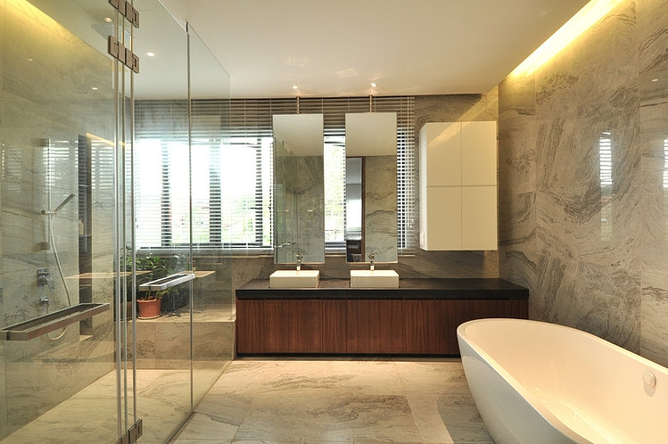 modern contemporary elegant house in city of singapore (6)