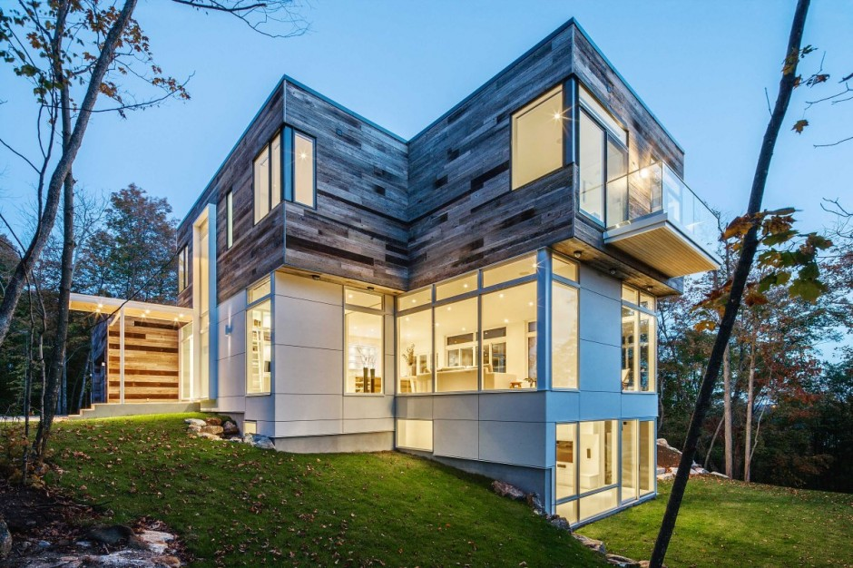 modern contemporary house in canadian forest (13)