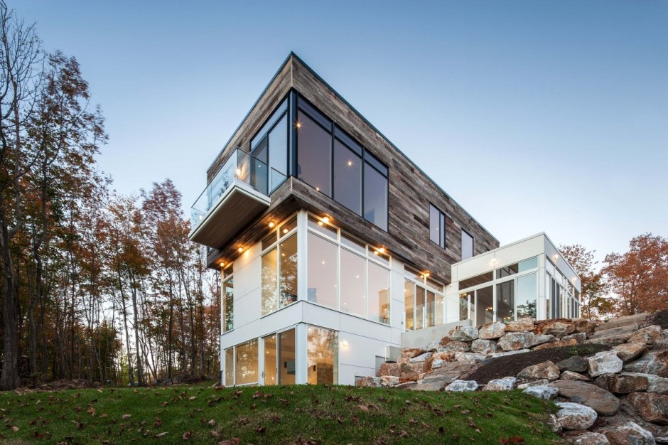 modern contemporary house in canadian forest (15)